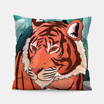 Miniatur Tiger in the jungle Pillow, Live Heroes