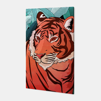 Miniatur Tiger in the jungle Canvas, Live Heroes