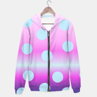 Thumbnail image of dots on top Hoodie, Live Heroes