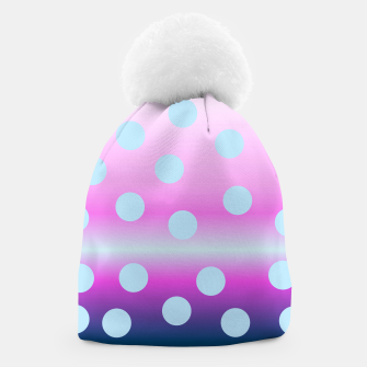 Thumbnail image of dots on top Beanie, Live Heroes