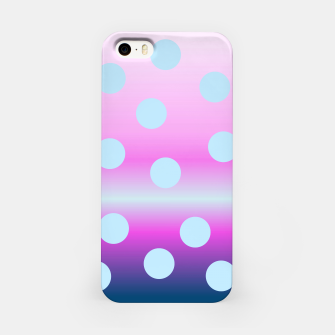Thumbnail image of dots on top iPhone Case, Live Heroes
