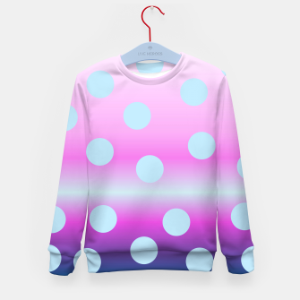 Thumbnail image of dots on top Kid's Sweater, Live Heroes