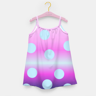 Thumbnail image of dots on top Girl's Dress, Live Heroes