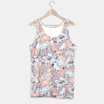 Thumbnail image of Leopards in the pink jungle Camiseta de tirantes, Live Heroes