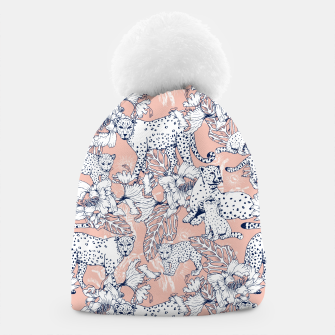 Thumbnail image of Leopards in the pink jungle Gorro, Live Heroes
