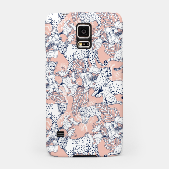 Thumbnail image of Leopards in the pink jungle Carcasa por Samsung, Live Heroes