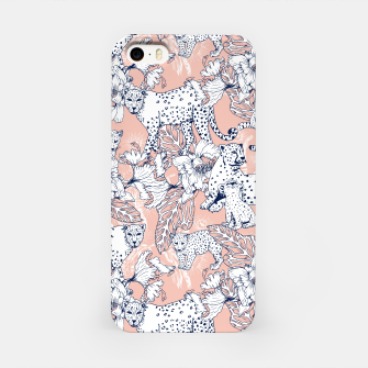 Thumbnail image of Leopards in the pink jungle Carcasa por Iphone, Live Heroes