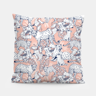 Thumbnail image of Leopards in the pink jungle Almohada, Live Heroes