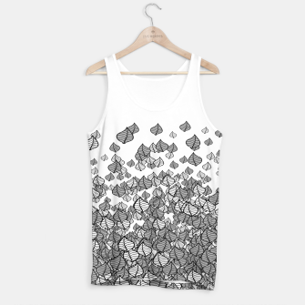 Leaf Blower B&W Tank Top thumbnail image