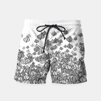 Leaf Blower B&W Swim Shorts thumbnail image
