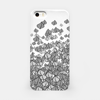 Leaf Blower B&W iPhone Case thumbnail image