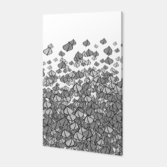 Leaf Blower B&W Canvas thumbnail image