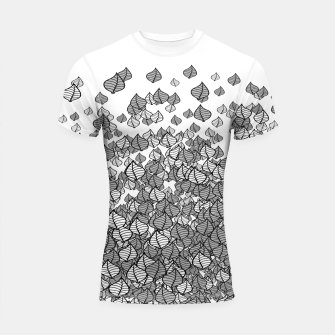 Leaf Blower B&W Shortsleeve Rashguard thumbnail image