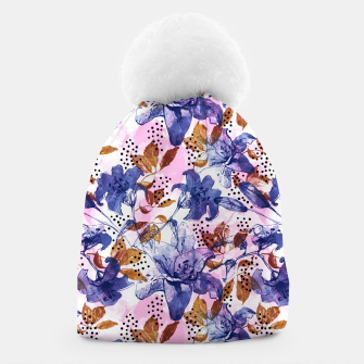 Thumbnail image of Abstract floral tropical nature Gorro, Live Heroes