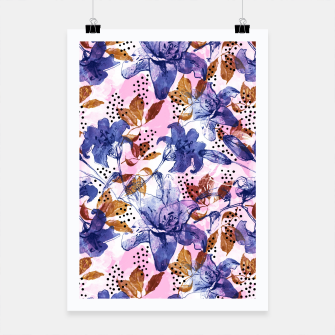 Thumbnail image of Abstract floral tropical nature Cartel, Live Heroes