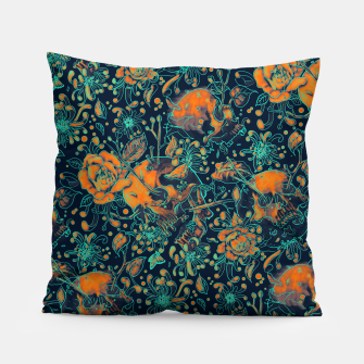 Thumbnail image of Life and Death Pattern Pillow, Live Heroes
