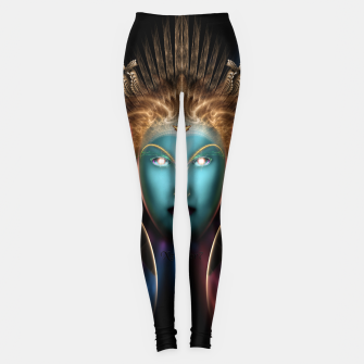Thumbnail image of The Riddian Queen Leggings, Live Heroes