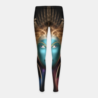 Thumbnail image of The Riddian Queen Girl's Leggings, Live Heroes