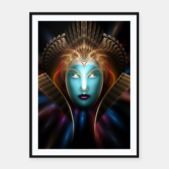 Thumbnail image of The Riddian Queen Framed poster, Live Heroes