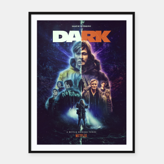 Thumbnail image of DARK fanart by The Sonnyfive Framed poster, Live Heroes