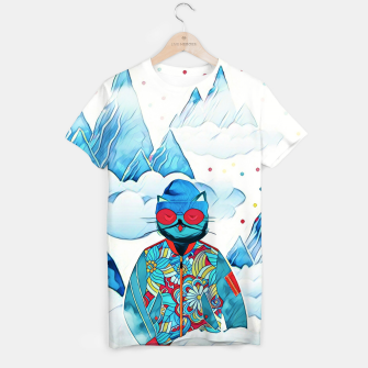 Miniaturka Kitty in the sky T-shirt, Live Heroes