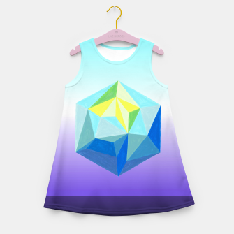 Thumbnail image of new Girl's Summer Dress, Live Heroes