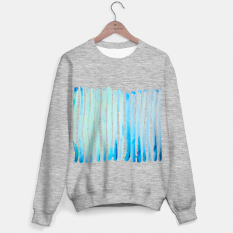 Thumbnail image of New Year Blue Water Lines Sweater regular, Live Heroes