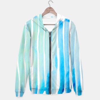 Thumbnail image of New Year Blue Water Lines Hoodie, Live Heroes