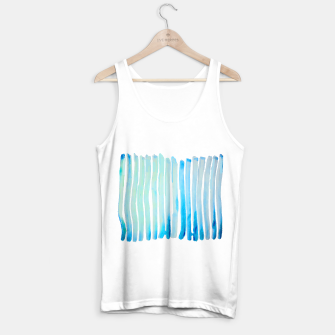 Thumbnail image of New Year Blue Water Lines Tank Top regular, Live Heroes