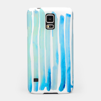 Thumbnail image of New Year Blue Water Lines Samsung Case, Live Heroes