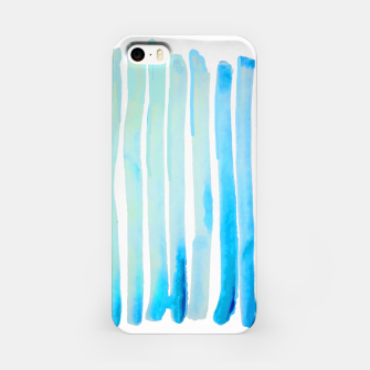 Thumbnail image of New Year Blue Water Lines iPhone Case, Live Heroes