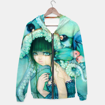 Thumbnail image of Loveless Bird Hoodie, Live Heroes