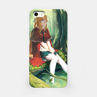 Thumbnail image of Red Riding Hood Anime Beautiful Girl Carcasa por Iphone, Live Heroes