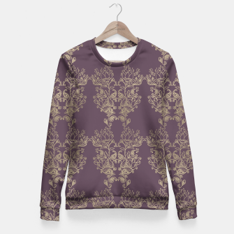 Thumbnail image of Floral vintage Fitted Waist Sweater, Live Heroes