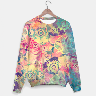 Thumbnail image of Abstract Flowers Sweater, Live Heroes