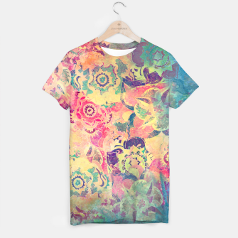Thumbnail image of Abstract Flowers T-shirt, Live Heroes