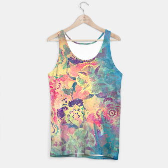 Thumbnail image of Abstract Flowers Tank Top, Live Heroes