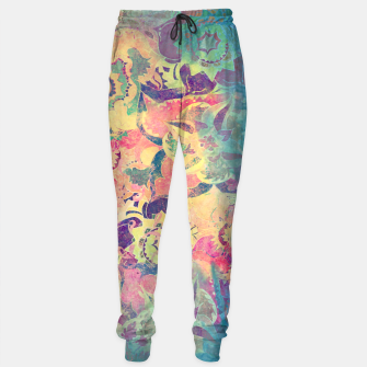 Thumbnail image of Abstract Flowers Sweatpants, Live Heroes