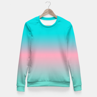 Thumbnail image of think bright Fitted Waist Sweater, Live Heroes