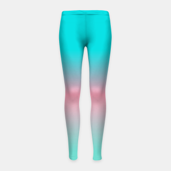 Thumbnail image of think bright Girl's Leggings, Live Heroes