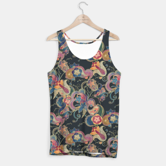Thumbnail image of Blue Garden Tank Top, Live Heroes