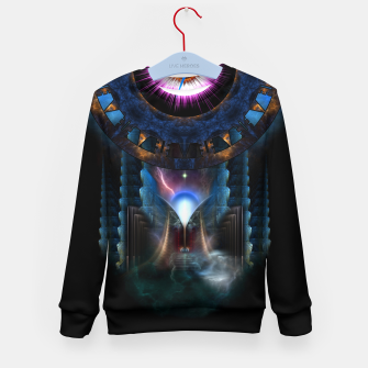 Thumbnail image of Mystical Realm Of Zypher Kid's Sweater, Live Heroes