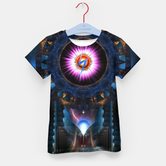 Thumbnail image of Mystical Realm Of Zypher Kid's T-shirt, Live Heroes