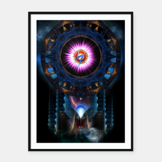 Thumbnail image of Mystical Realm Of Zypher Framed poster, Live Heroes