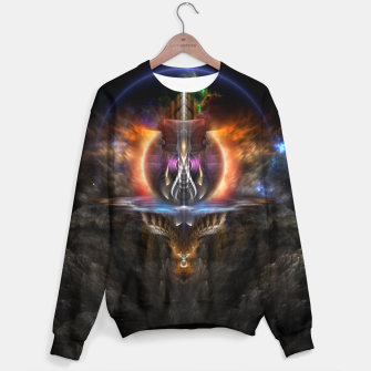 Thumbnail image of Trittium 3 Fractal Art Composition Sweater, Live Heroes