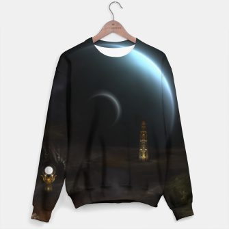 Thumbnail image of Unknown Frontiers Sci-Fi Exploration Sweater, Live Heroes