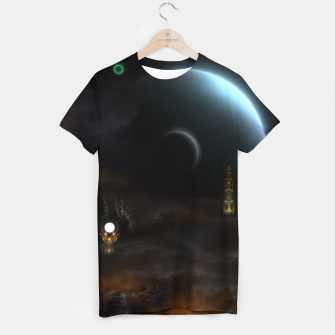 Thumbnail image of Unknown Frontiers Sci-Fi Exploration T-shirt, Live Heroes