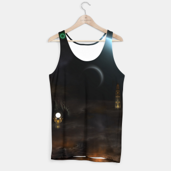 Thumbnail image of Unknown Frontiers Sci-Fi Exploration Tank Top, Live Heroes