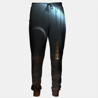 Thumbnail image of Unknown Frontiers Sci-Fi Exploration Sweatpants, Live Heroes