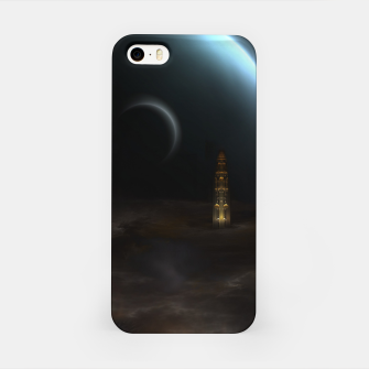 Thumbnail image of Unknown Frontiers Sci-Fi Exploration iPhone Case, Live Heroes